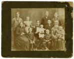 Photograph of the Asa Stone Lee family