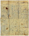 Letter from Thomas Rawlings Myers to William Talbot Myers