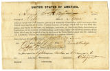 Oath of allegiance of Lewis S. Hodge