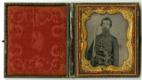 Ambrotype of Capt. Ben H. Sandeford