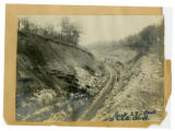 Photograph, Nashville & Northwestern Railroad near White Bluff