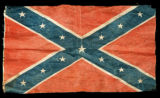Confederate reunion battle flag