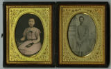 Photographic prints of Capt. Wiliam Howse Sikes and Bettie Thompson Sikes