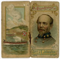 Cigarette card with Gen. Joseph Johnston image