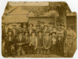 Photograph of 1905 Confederate Veterans reunion