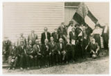 Copy photograph of United Confederate Veterans group from Hamblen County