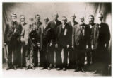 Copy photograph of United Confederate Veterans of Hamblen County