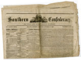 Southern Confederacy newspaper for October 14, 1862
