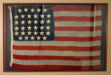 34-star US flag from the St. Louis Arsenal