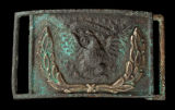 Belt buckle recovered at Stones River battlefield