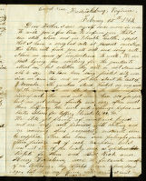 Letter to John Clack from Spence Clack
