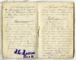 Jesse Cannon Jackson Civil War diary