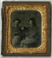 Tintype of Confederate soldiers