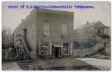 Postcard of U.S. Post Office at Johnsonville, Tennessee