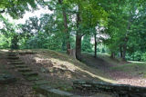 Union earthworks at Fort Hill in Waverly, Tenn.