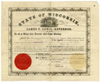 Appointment paper for Dr. William W. Allen