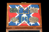 Confederate belt buckles