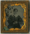 Ambrotype of an unidentified woman