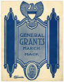 Sheet Music General Grant's March by Edward Mack