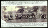 Copy print of Confederate veterans reunion photograph