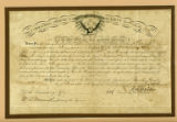 Appointment of Henry Deberry as sergeant in Union army