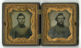 Encased daguerreotypes of Cpl. David M. Williams and Sgt. Elijah J. Pirkle