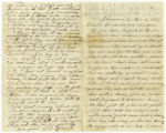 Letter from Corporal Lorenzo Dow Atwood to Coredelia Atwood