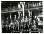 Photograph of Civil War veterans reunion