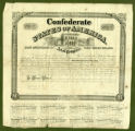 Confederate bond of March 25, 1863