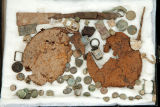 Relics including two canteens from Shiloh