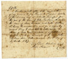 Chancery court order for the sale of a slave