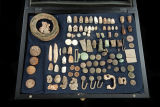 Group of recovered relics from Sequatchie County, Tennessee