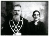 Confederate veteran Isaac Lockhart and wife