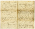 Letter from James B. Owen to Sarah Bell
