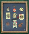 Collection of United Confederate Veterans (UCV) medals and ribbons