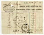 Receipt of dry goods from St. Louis firm