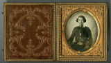 Ambrotype of unidentified Civil War private