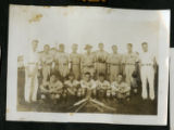 Camp Sam Houston baseball team
