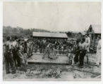 Civilian Conservation Corps boxing ring