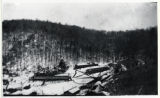 Unidentified Civilian Conservation Corps camp