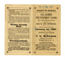 Claims for property taken pamphlet