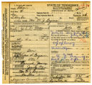 William Jennings Bryan's death certificate