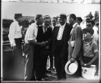 Clarence Darrow's Arrival in Dayton