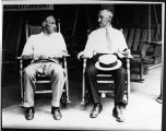 John T. Scopes and his father