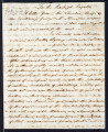 1818 Letter from Cherokee chiefs to Gov. McMinn