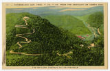 Cumberland Gap, Tenn.-Va.-Ky. From the Kentucky or North Side, the Skyland Highway to the Pinnacle