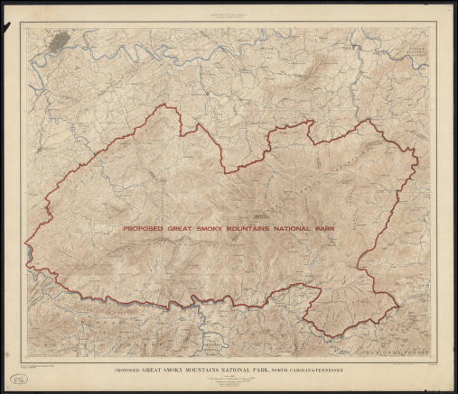 Proposed Great Smoky Mountains National Park, North Carolina ... on