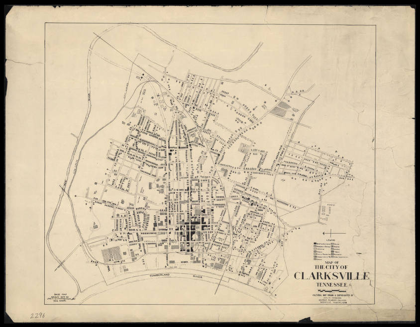 Map of the City of Clarksville Tennessee (1938) - Maps at the ... Map Of Clarksville Tn on map of grainger county tn, map of berry hill tn, map of tennessee, map of frayser tn, all map of tn, map of lobelville tn, map of petersburg tn, map of fall branch tn, map of johnsonville tn, map of millersville tn, map of clarkrange tn, map of pleasant view tn, map of arrington tn, map of adams tn, map of jefferson co tn, map of ridgetop tn, map of tallassee tn, map of madison co tn, map of rivergate tn, map of mountain home tn,
