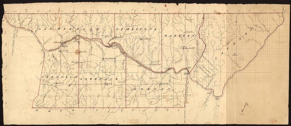 Limestone Tennessee Map.Lauderdale Limestone Madison Jackson Franklin Lawrence And