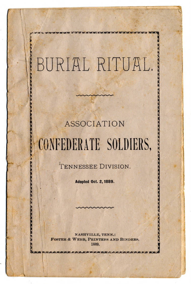 34708_1 - The Lost Cause in Southern Memory - Tennessee